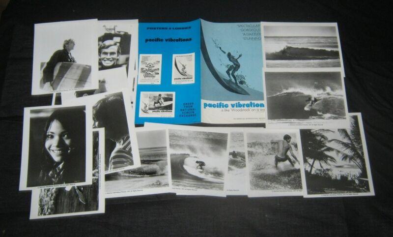 Original PACIFIC VIBRATIONS PRESSBOOK & 16 STILLS Bill Hamilton JOCK SUTHERLAND
