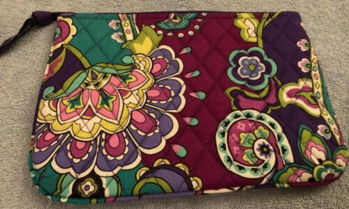 Vera Bradley Cosmetic Bag in Heather - Make Up Case - Purple, Paisley, Floral