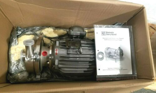 Waukesha SPX S200 Series 5 HP Centrifugal Stainless Steel Pump New In Box