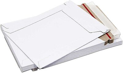 50 - 6 X 8 White Cddvd Photo Ship Flats Cardboard Envelope Mailer Mailers