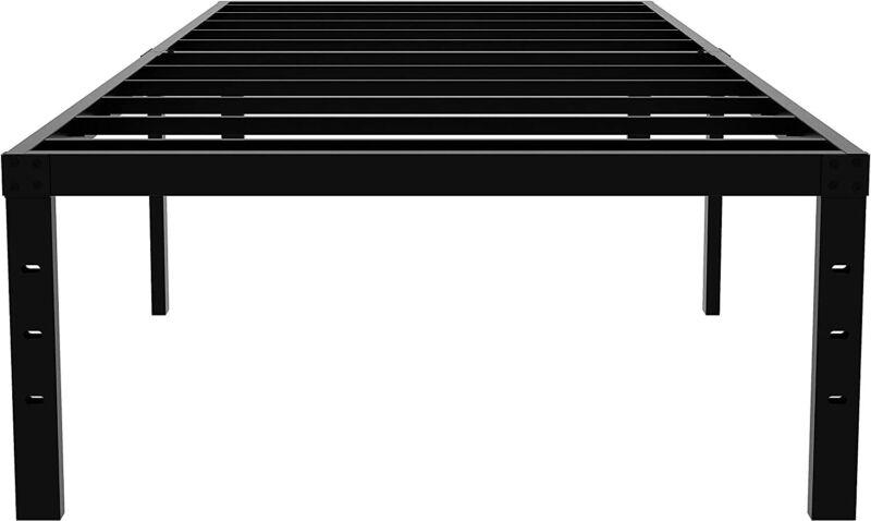 Metal Bed Frame for Boys and Girls, Anti-Slip Strengthen Iron Platform Bed