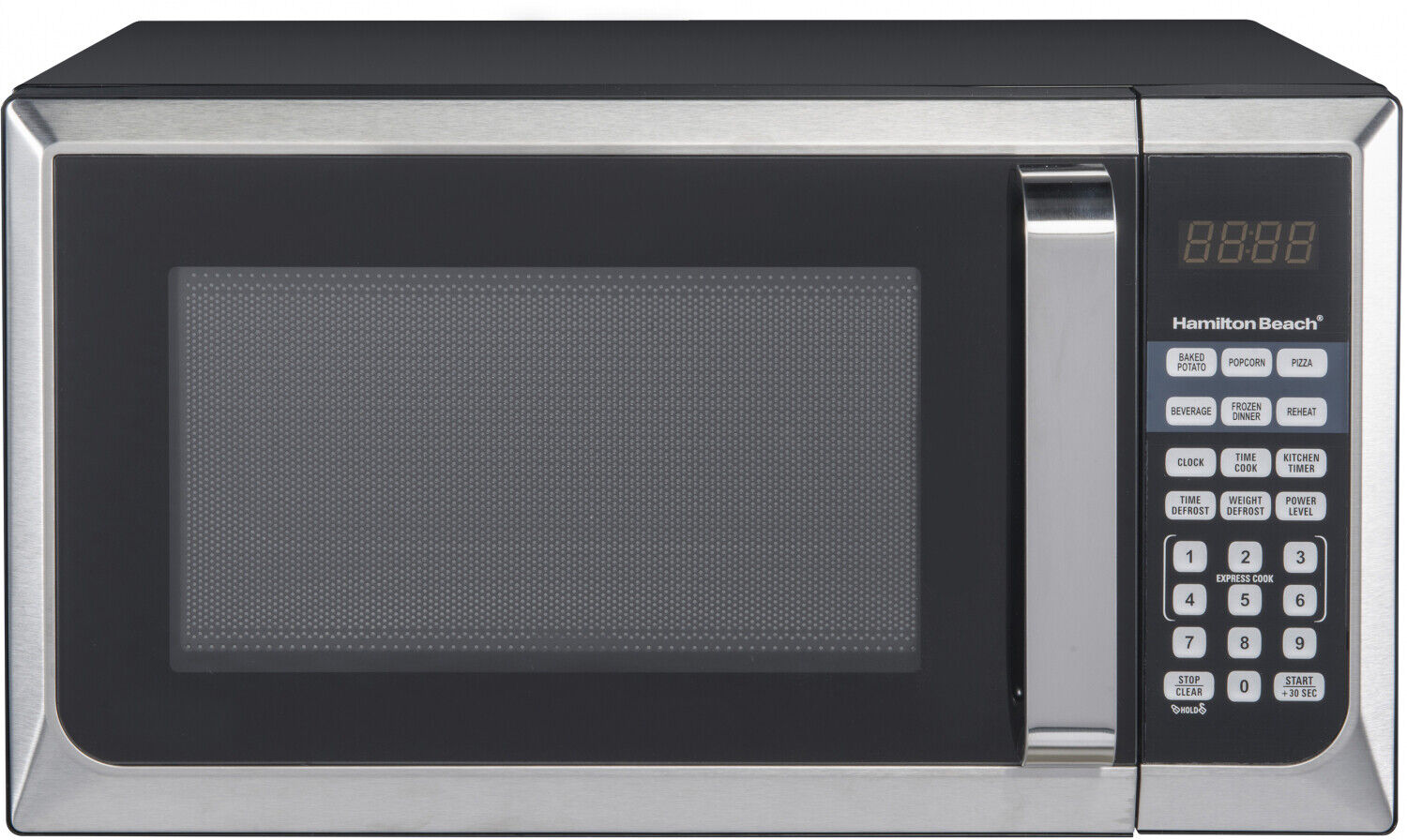 stainless steel countertop microwave oven for apartment