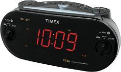 Timex XBBU T715 Redi-Set Dual Alarm Clock Radio Am/Fm Large Digital Display