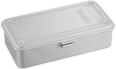 TRUSCO DIY Trunk type tool box silver W192 x D109 x H56 T190 from Japan