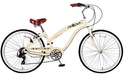 "Fito Modena II Alloy 7-speed - Vanilla, Women's 26"" Beach Cruiser Bike"