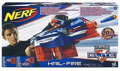 New NERF N-STRIKE Elite HAIL FIRE Blaster GUN