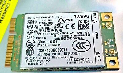 Original Dell Latitude E7240 E7440 WWAN 4G HSPA+ 42 Mbit/s DW5570 7W5P6 MC8805