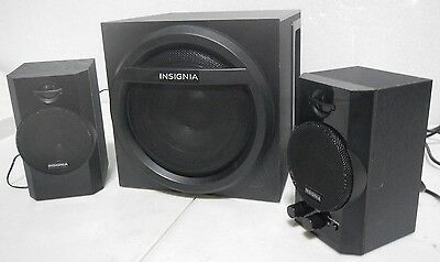 Insignia 2 1 Bluetooth Speaker System 32W Total Output 41376