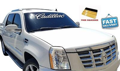 CADILLAC Decal Escalade Window Sticker 2000 - 2018 CTS - ATS - XTS Vinyl Sign