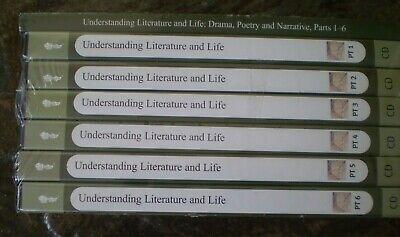 Great Courses UNDERSTANDING LITERATURE & LIFE Prof Weinstein CDs & Booklet NEW