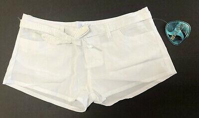 NEW BODY GLOVE Women's White Swim Short - Voodoo Stretch  White Stretch Glove