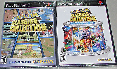 Capcom Classics Collection Vol. 1 & 2 Bundle Playstation 2