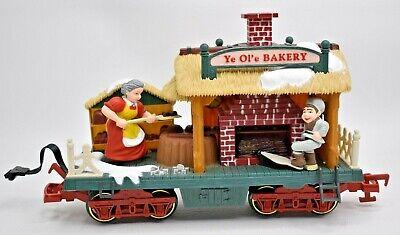 The Holiday Express Animated Train Set No. 384-4 Bakery Car New Bright