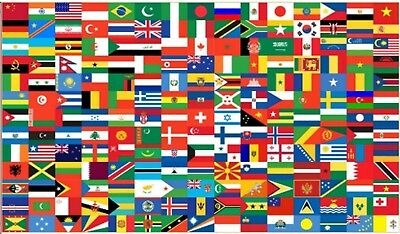 Countries of the World Flag - Flags - All Nations - (195 Countries 5'x3′) ](Flags Of The Nations)