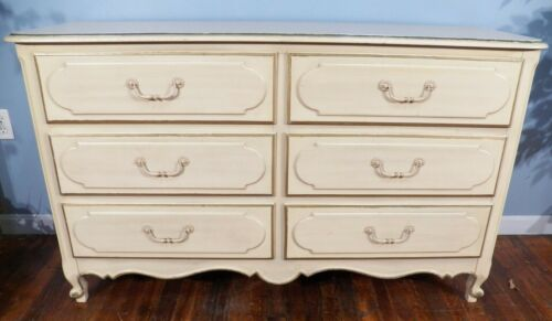 Henry Link French Double Dresser Country Provincial 6 Drawers Margaux