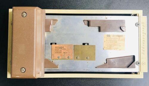 Addressograph Manual Credit Card Imprint Machine POS Flatbed Vintage Prop