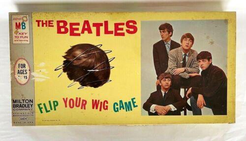Vintage 1964 The Beatles Flip Your Wig Board Game #4404 **COMPLETE