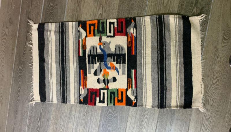 VTG Native Woven Designed light Weight Rug 45x23