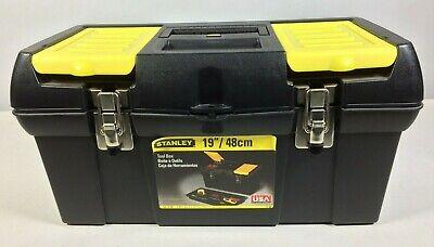 "Stanley® Bostitch® Tool Box With Tray, 9 3/4""H x 10 1/4""W x 19 1/4""D"