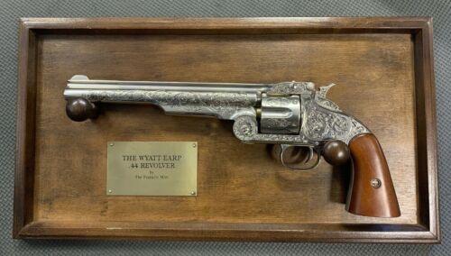 The Franklin Mint - Wyatt Earp .44 Revolver Replica w/Display