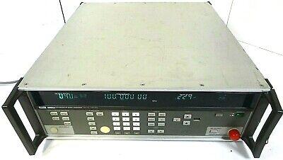 Fluke 6060a Synthesized Signal Generator 100khz- 1050 Mhz Free Shipping