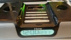 iHome iH8 Apple ipod/iphone Speaker With Docking Station and Alarm Clock Radio