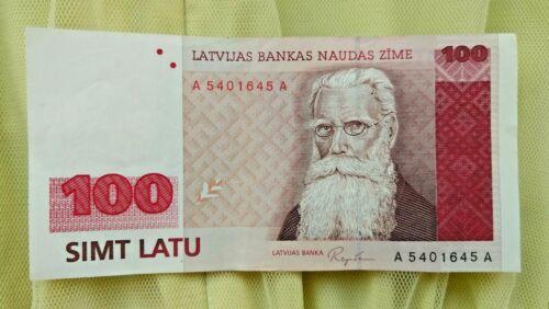 Latvia 100 latu P 47 1992
