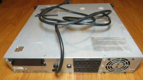 APC SMT1500RM2U UPS Battery Backup