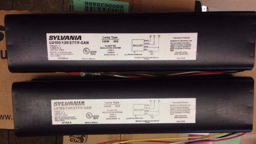 2 PIECES SYLVANIA 47765 LU150/120/277/F-CAN 150W HPS F-CAN = ADVANCE 72C8185-NP