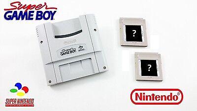 SUPER GAMEBOY + 2 GRATIS SPIELE ♦ SNES ♦ Super Nintendo GB ADAP. (gebraucht)