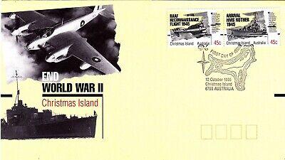 1995 FDC Christmas Island.End World War II.