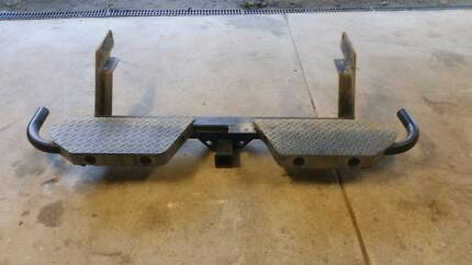 Ford Ranger tow bar with rear steps, suits PJ, PK models 07- 11
