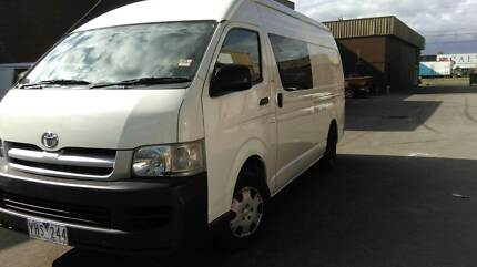 2006 Toyota Hiace SLWB Hi Roof DIesel Turbo Manual $15900 Dandenong Greater Dandenong Preview