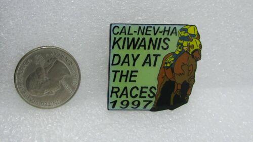 1997 Kiwanis Cal Nev Ha Day At The Races Pin