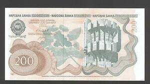 Yugoslavia 200 Dinara 1990 au-UNCIRCULATED P. 102, billetes, Uncirculated- 							 							ver título original - España - Yugoslavia 200 Dinara 1990 au-UNCIRCULATED P. 102, billetes, Uncirculated- 							 							ver título original - España