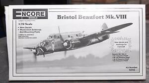 Encore Models #1010 1/72 Bristol Beaufort Mk.VIII Beachmere Caboolture Area Preview