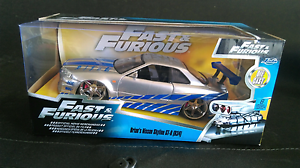 Fast & furious 1.24 scale diecast Junee Junee Area Preview