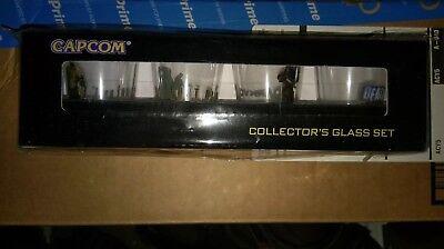 Capcom Collectors Shot Glass Set - Dark Void, Lost Planet 2, DR 2, RE Sealed!!