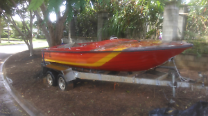 Ski boat Ramsay cheetah with 350 Chev motor Cairns Cairns City Preview