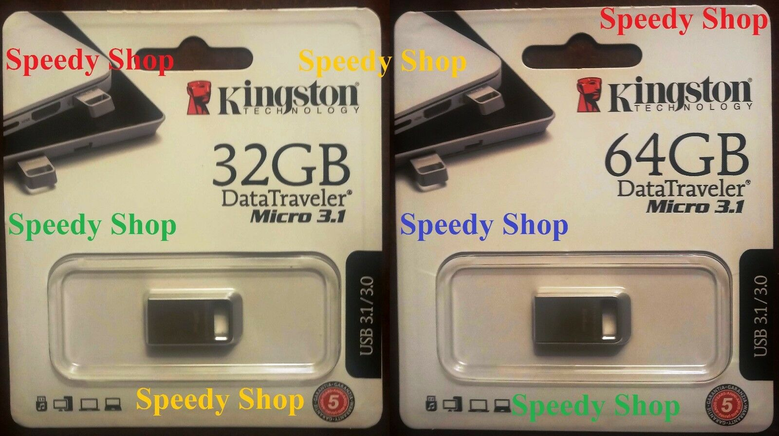 PENDRIVE USB 3.0 KINGSTON CHIAVETTA 8 GB 16 GB 32 GB 64 GB 128 GB MEMORIA DTIG4