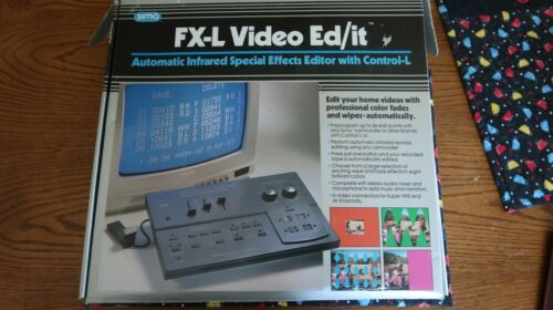 Old School FX-L Video Ed/it Automotic Infrared Special Effects Editor. SFX-L