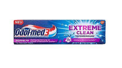 Odol-med 3 Extreme Clean Tiefenreinigung Zahnpasta 75 ml