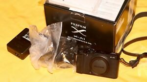 Brand New Fujifilm X-A1 XC16-50mm Mirrorless-Black Edition