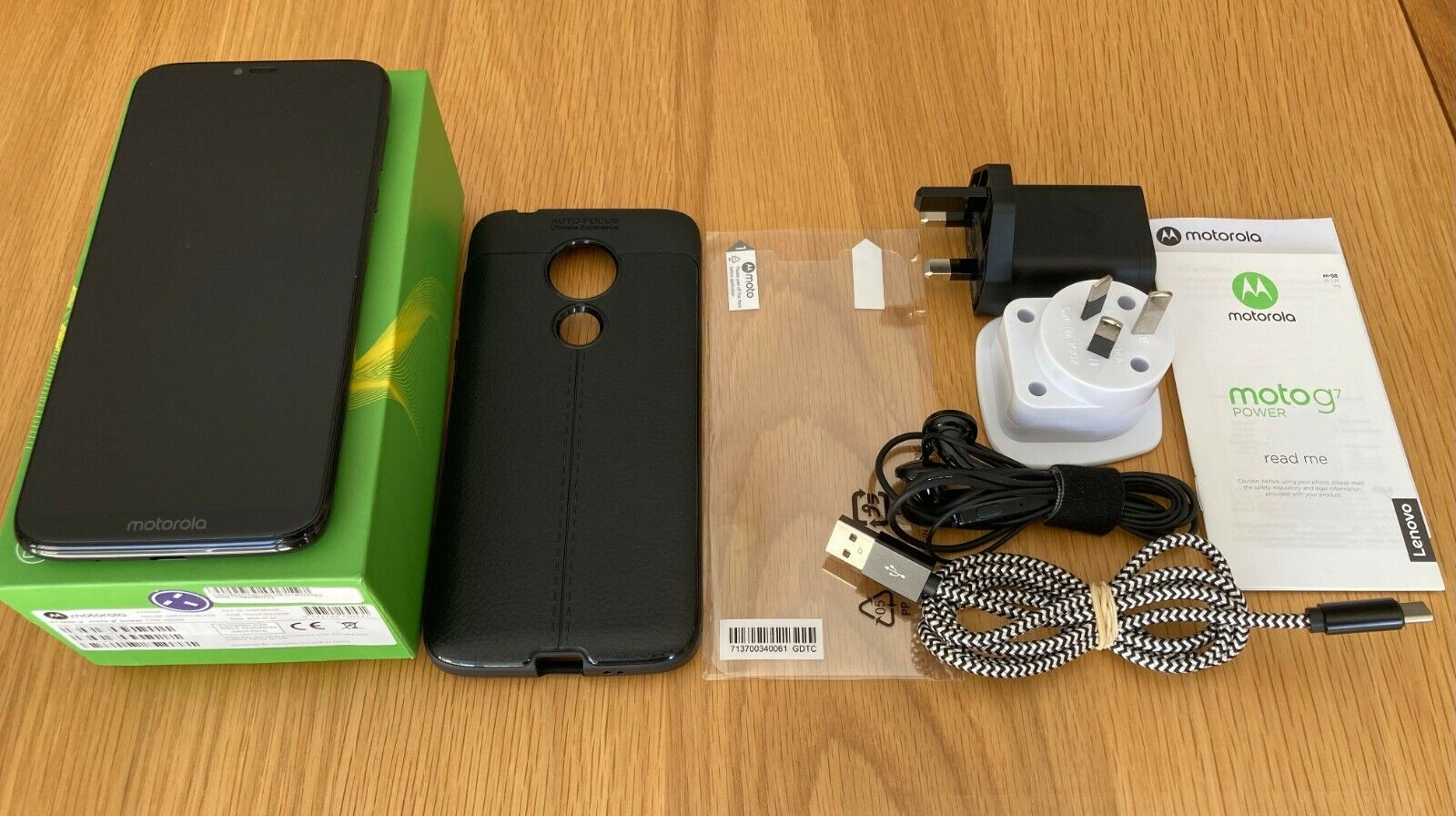 Android Phone - Moto G7 Power XT1955-4 64GB Dual SIM Ceramic Black (Unlocked)