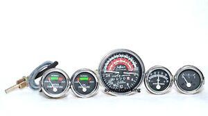Massey Ferguson Gauge Kit and Tachometer-  MF35  MF50  MF65 TO35  F40  MH50