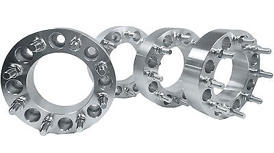 "4 PC 8X180 TO 8X170 WHEEL SPACERS ADAPTERS 2"" THICK CHANGES BOLT PATTERN"