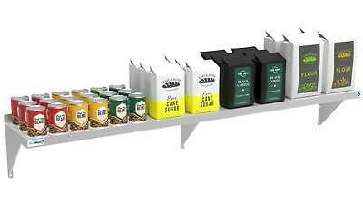 Nfs Stainless Steel Commercial Kitchen Wall Shelf Restaurant Shelving 12 X 72