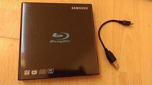 SAMSUNG USB 2.0 External Slim Portable Blu-ray Writer Model SE-506BB/TSBD