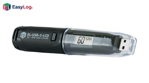 Lascar EL-USB-2-LCD Temperature and Humidity USB Data Logger  with LCD Display