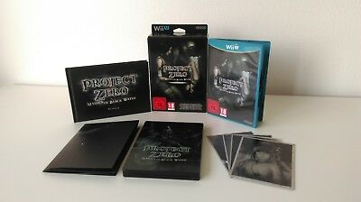 NEW Nintendo Wii U Project Zero:Maiden of Black Water Special Edition VERY RARE!